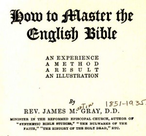 How to Master English Bible Gray