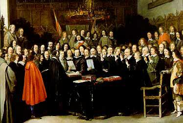 peace of westphalia essay The peace of westphalia (german: westfälischer friede) was a series of peace treaties signed between may and october 1648 in the westphalian cities of osnabrück and münster, effectively ending the european wars of religion.