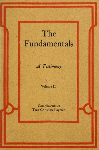 The Trinitarianism of the Fundamentals - The Scriptorium Daily