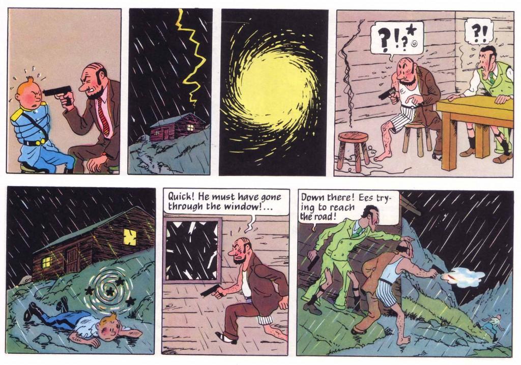 Tintin lightning