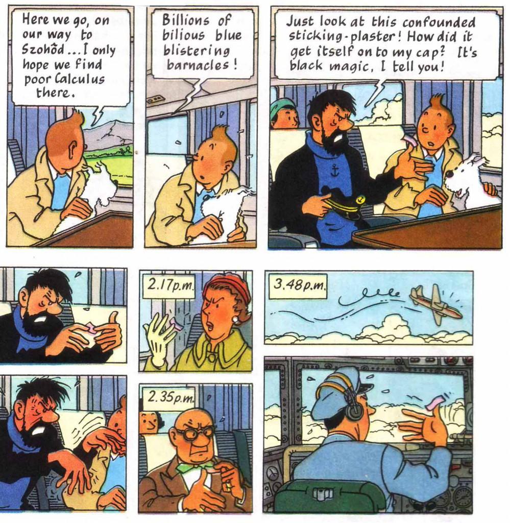 Tintin sticking plaster