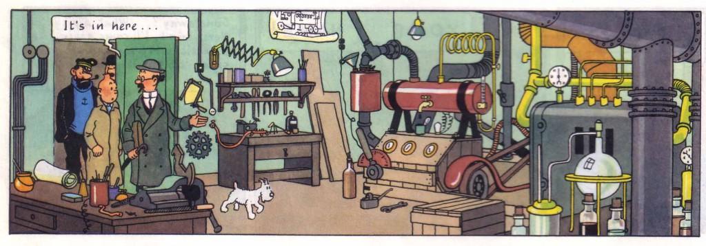 Tintin lab