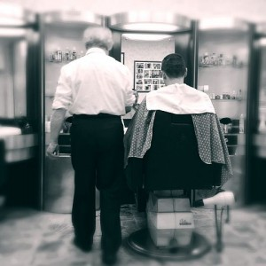 Barber Shop in Turin by Carlourossi