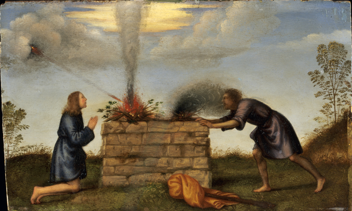 Iconography of Cain and Abel - The Scriptorium Daily