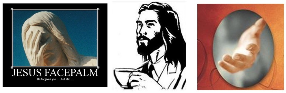 Coffee With Facepalm Jesus Calling