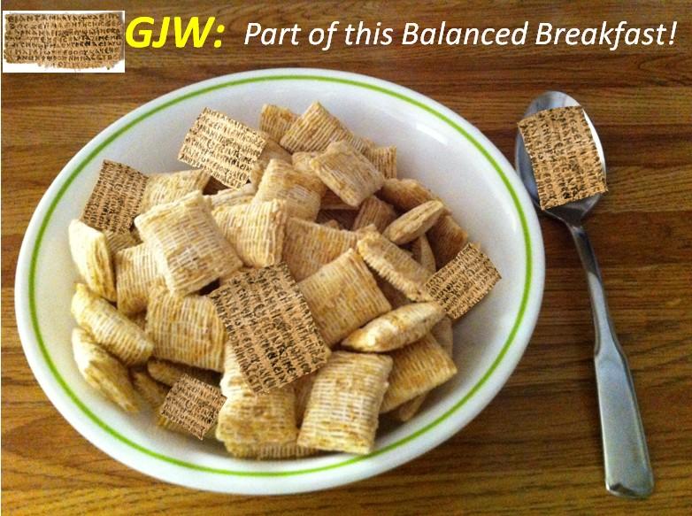 GJW cereal bowl