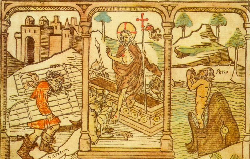 biblia pauperum resurrection typology