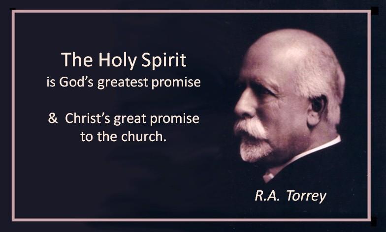 RA Torrey Spirit of Promise
