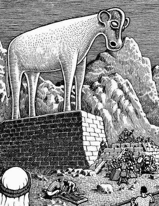 golden calf by basil wolverton