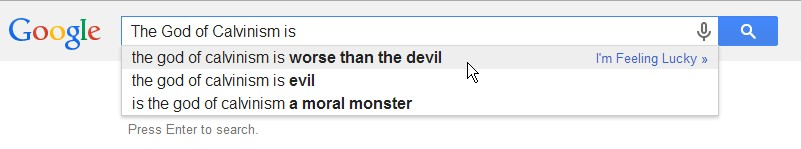 theology by autocomplete