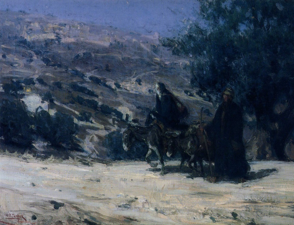 Tanner Flight into Egypt 1899