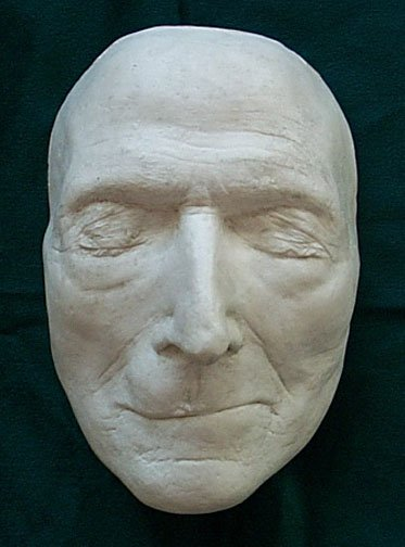 Wesley death mask