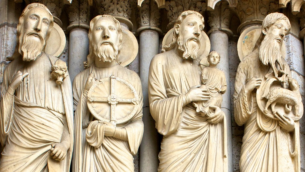 all them prophets from chartres