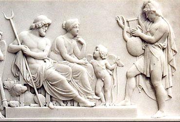 Orpheus lyre classical harmony