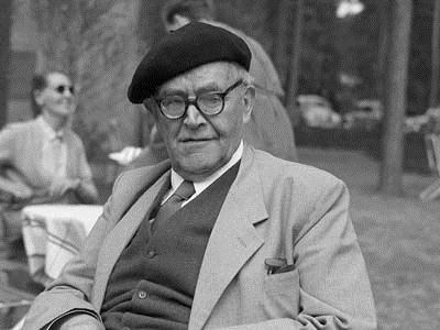 Barth with jaunty cap