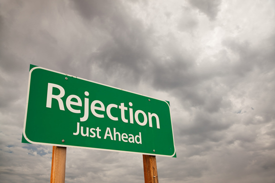 Rejection Just Ahead / selfworthdiet.com