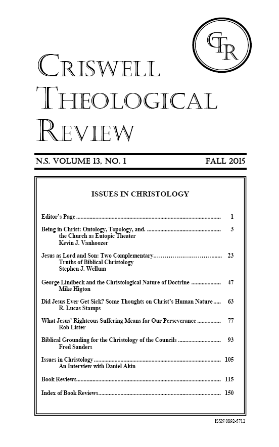 Criswell Review cover