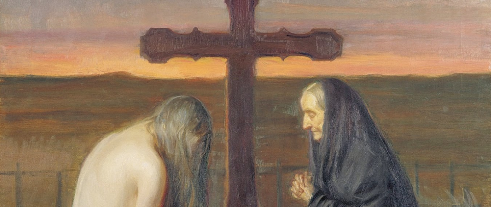 Grief by Anna Ancher
