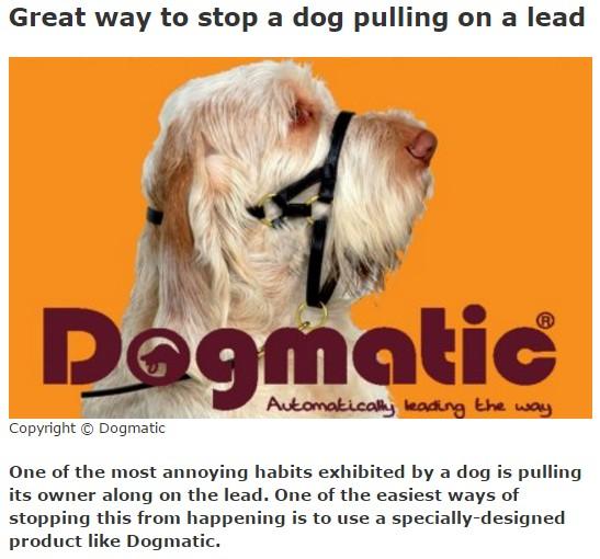 dogmatic muzzle