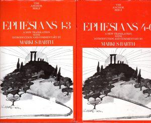 markus barth 2vol ephesians