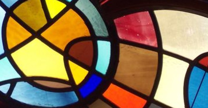 stained glass forms