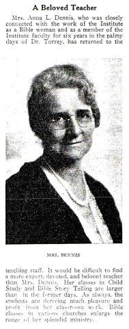 Anna Dennis 1931