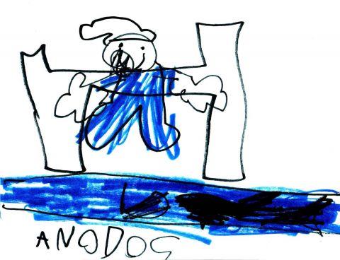 Anodos stream bed