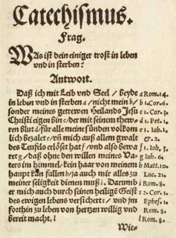 Heidelberg Catechism german p 1