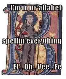 LOL Bernard of Clairvaux