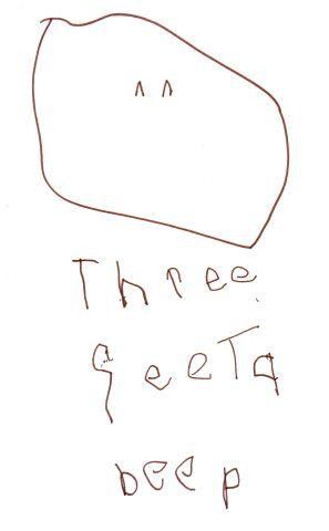 Three Feeta Beep