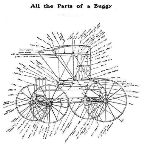 all parts of buggy