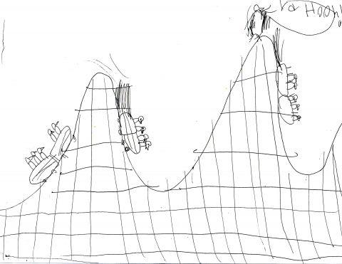 bird tues roller coaster