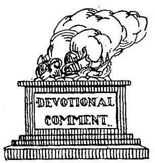 devotional comment