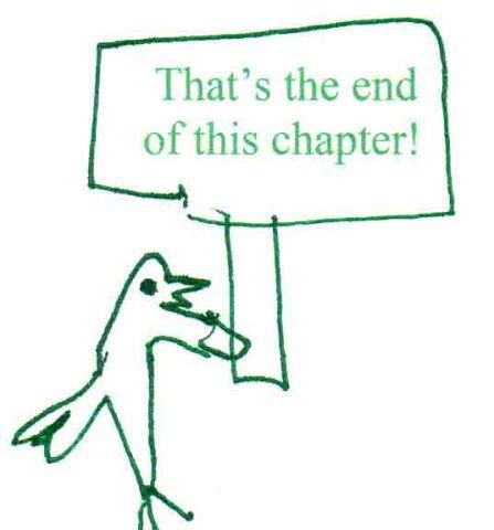 end chapter bird