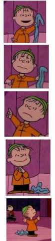 linus blanket sequence