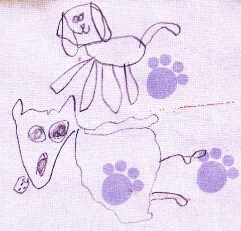 puppy sprawl  notepad detail 1