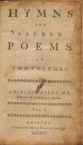 wesley hymnal