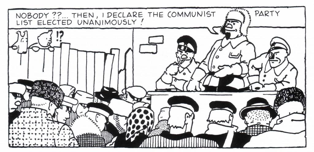 Tintin Communist Party