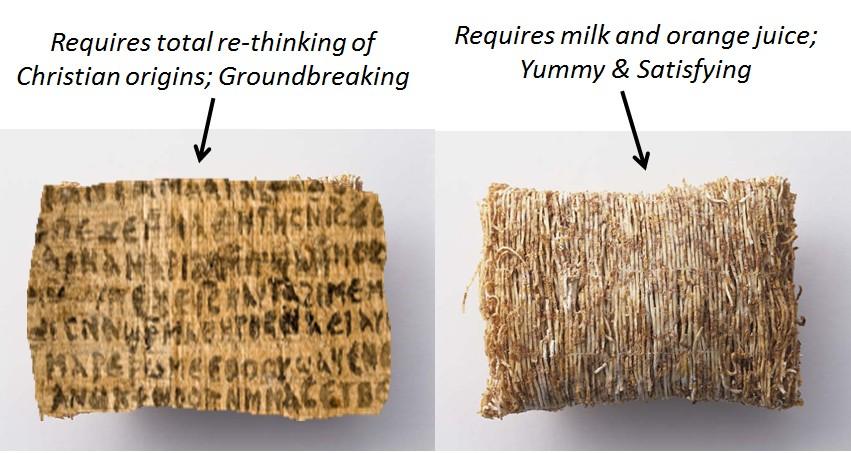 GJW cereal side by side