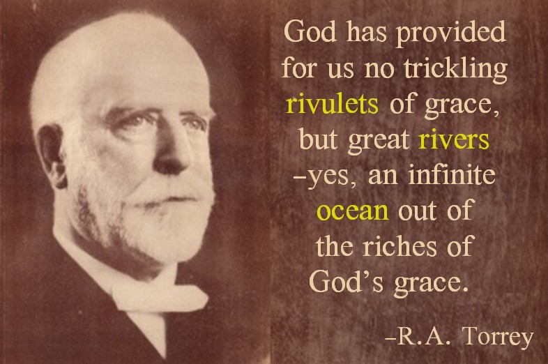 Rivulets of grace