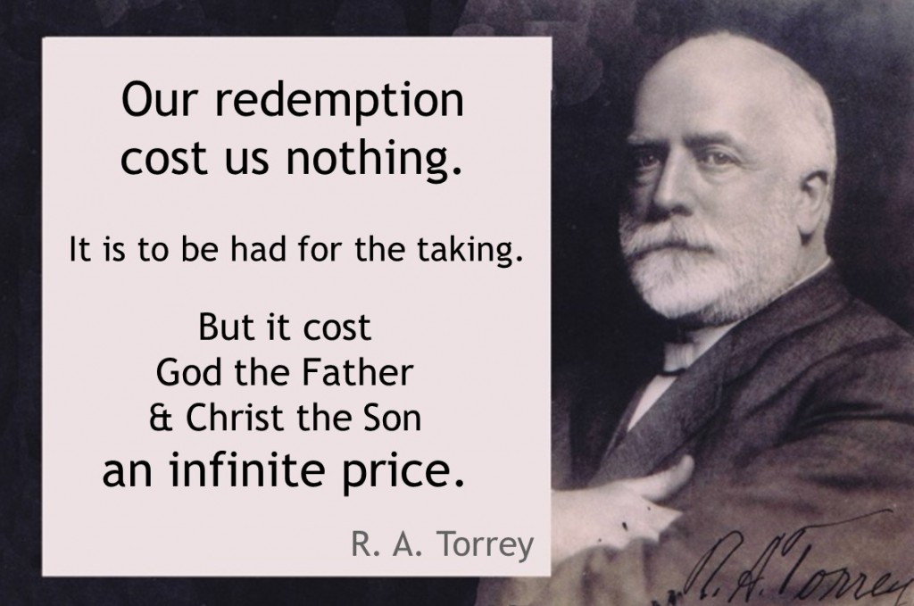 Torrey redemption cost nothing