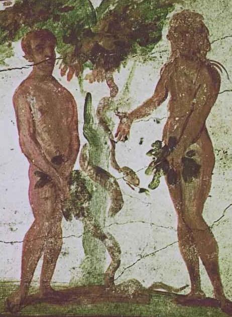 Eden snake mural