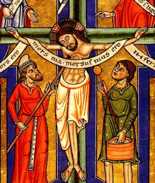 crucifixion from stammheim missal