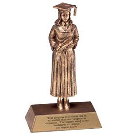 graduation trophy good work