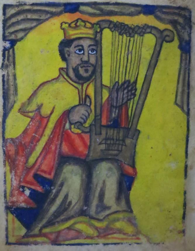 David from Ethiopian Bible 18th c