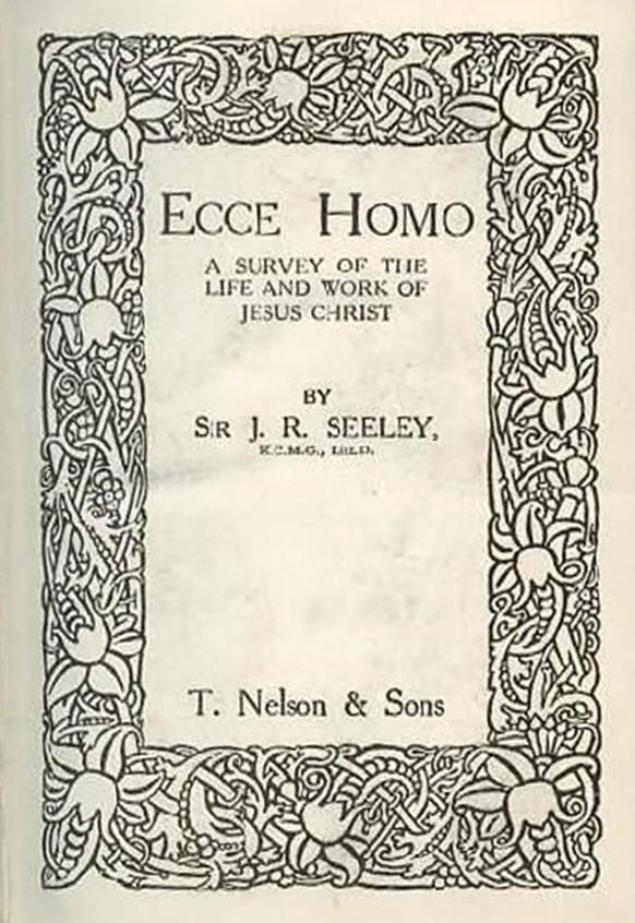 ecce homo title page