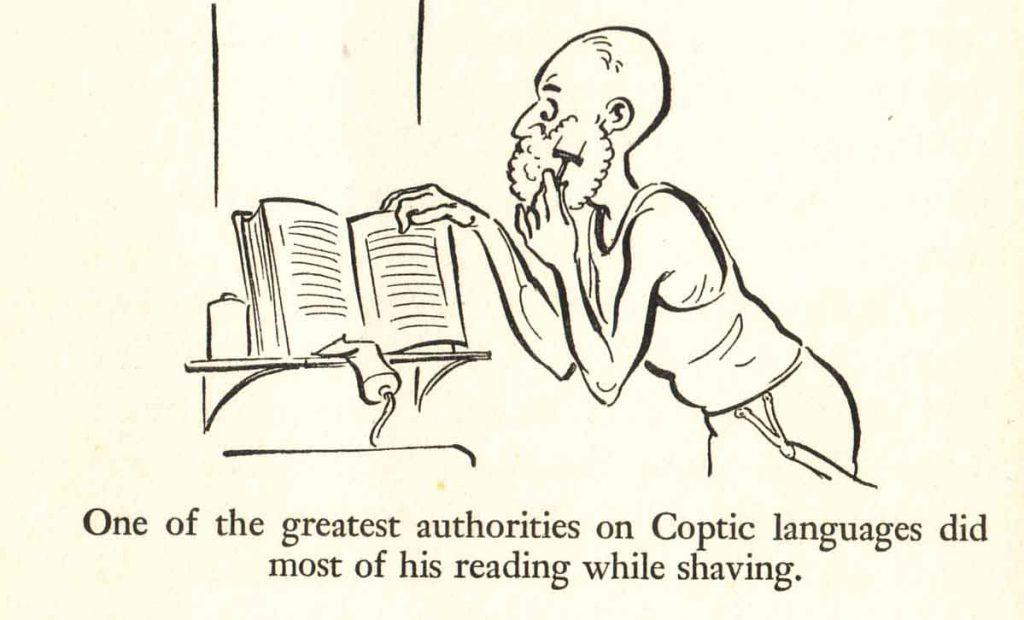2books shaving coptic