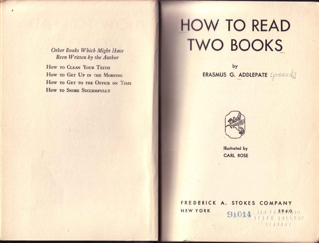2books title page