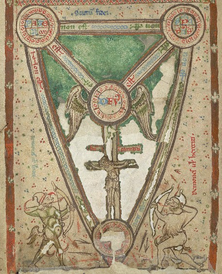 Trinity shield cross diagram from oxford