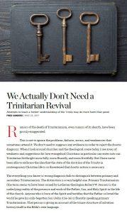ct trinity revival cap